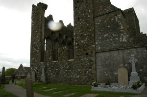 Rock of Cashel Is that an Orb?